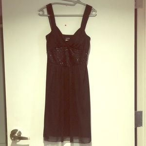 Fredericks of Hollywood Blk Sequined Dress SZ M